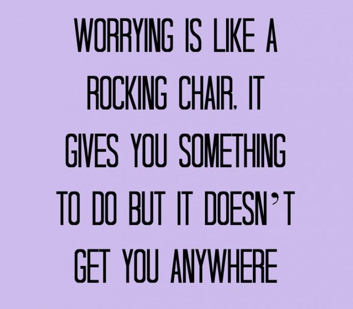 Worrying get you no where but faith in God will take you everywhere.