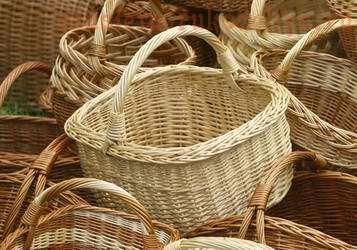 Основы плетения из лозы. Различные виды плетения и заделки края