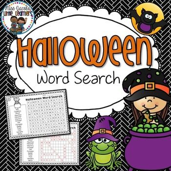 Grab your FREE Halloween Word Search here!Includes word search and answer sheet.Your feedback is appreciated :)********************************************************************************For more teaching ideas, freebies and resources, click on the Follow Me at the top of this page.All new products (excluding bundles) are 50% off for the first 48 hours so be sure to be following my social media sites below to take advantage of this!