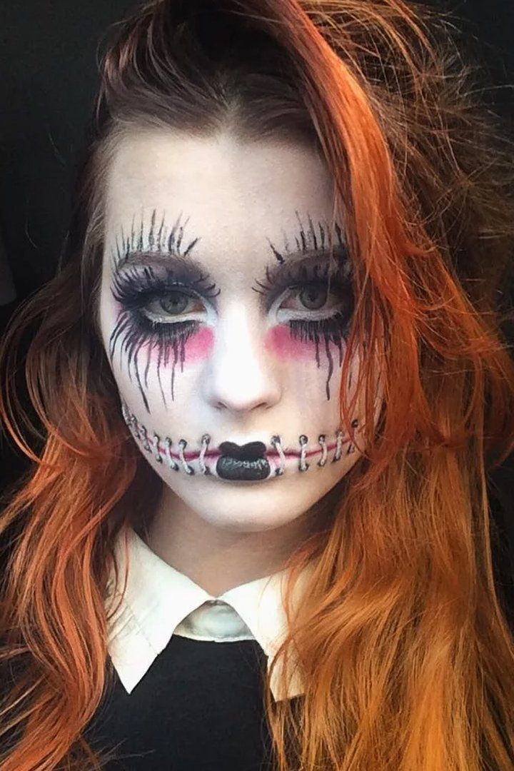 This 19-Year-Old's Horror Makeup Creations Will Send Shivers Down Your Spine