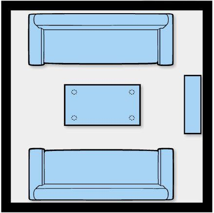 13 best interior layouts in a 10x10 room images on for 10x10 square feet