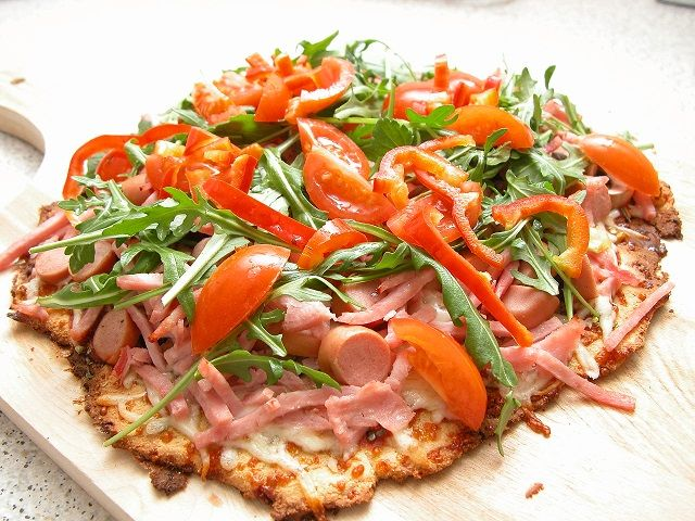 Sprød pizza – LCHF