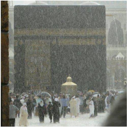 Rain in Mecca