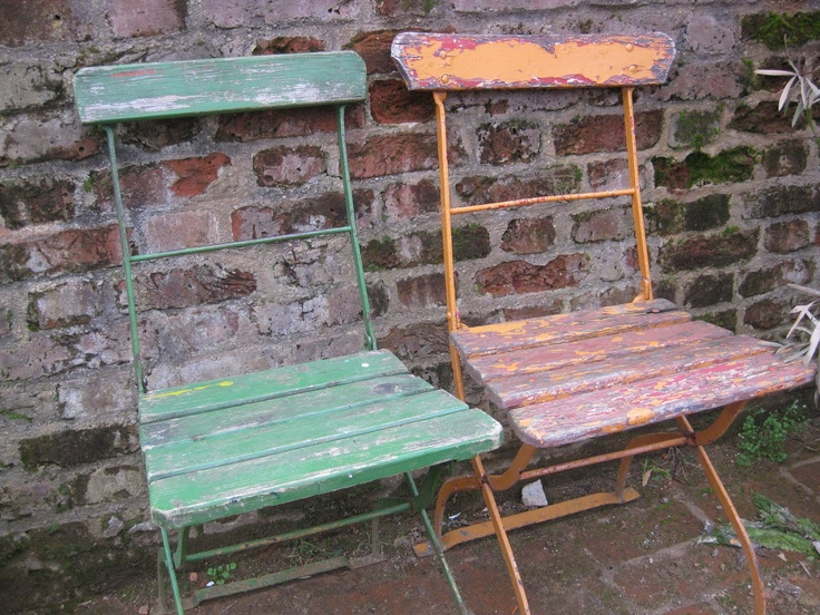 Old chairs- painted?