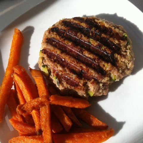 Turkey-Quinoa Burgers