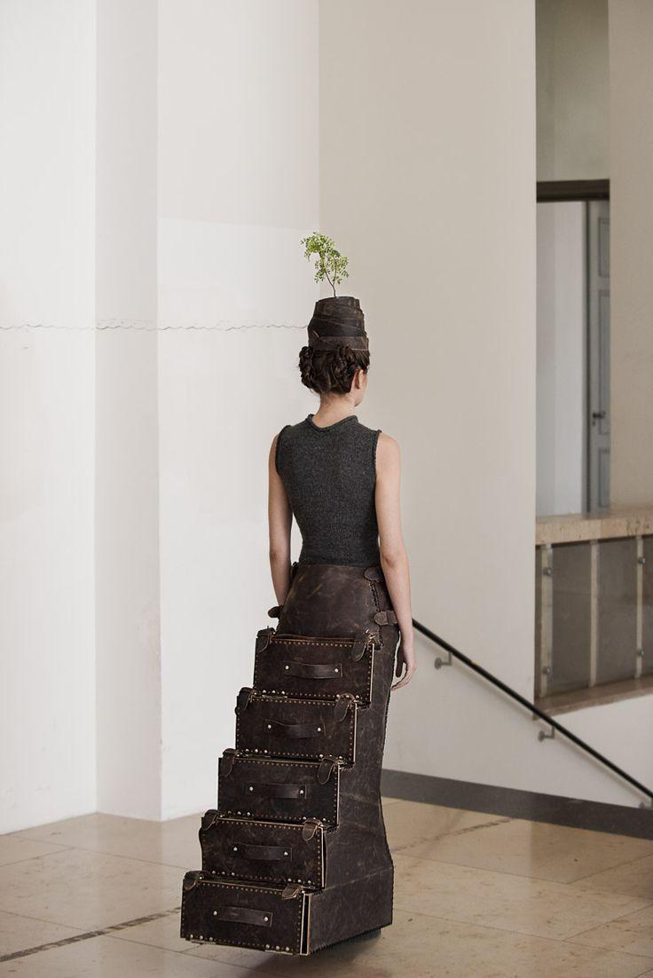 PLACE OF SPIRIT - STEP IN  Graduate Collection Look 8 Thomas Sing Photography  Lana B. / Munich Models  H&M: Dana Pribanovic retouch: Chiara Padovan