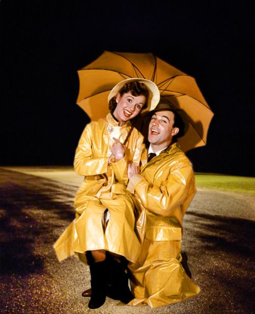Debbie Reynolds and Gene Kelly - Singin in the Rain                                                                                                                                                                                 More