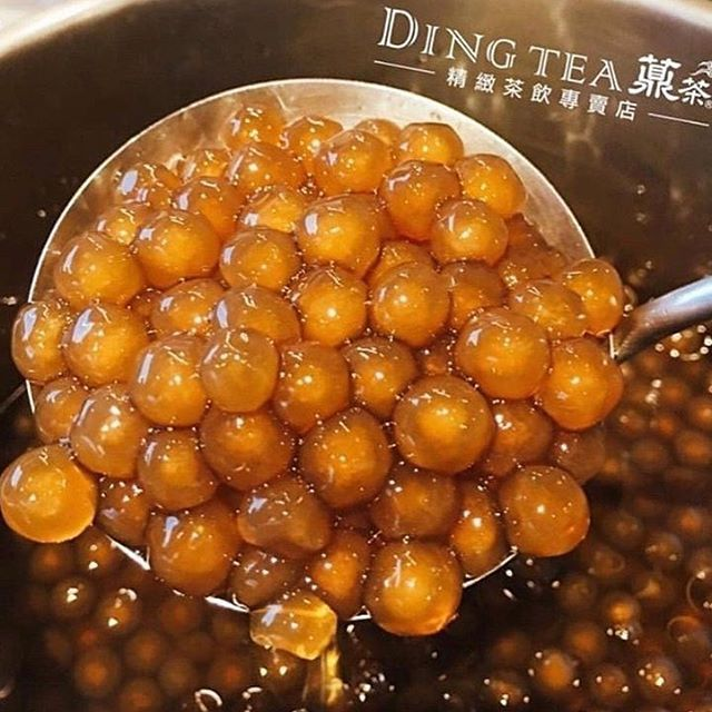 Repost Dingteaseattle Hand Crafted Golden Boba Chewey