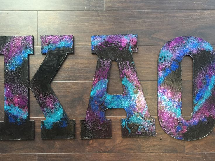 The 25 best painted sorority letters ideas on pinterest for Sorority crafts for little