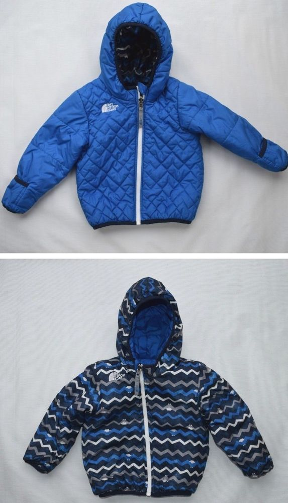 910fddaf7d78 THE NORTH FACE Perrito Reversible Blue Hooded Jacket Outerwear ...