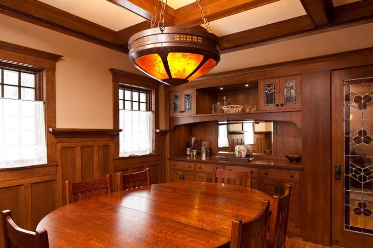 Arts And Crafts Dining Room: 237 Best Craftsman Dining Rooms Images On Pinterest