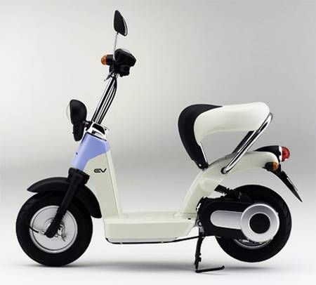 Honda Electric Scooter Moped photo