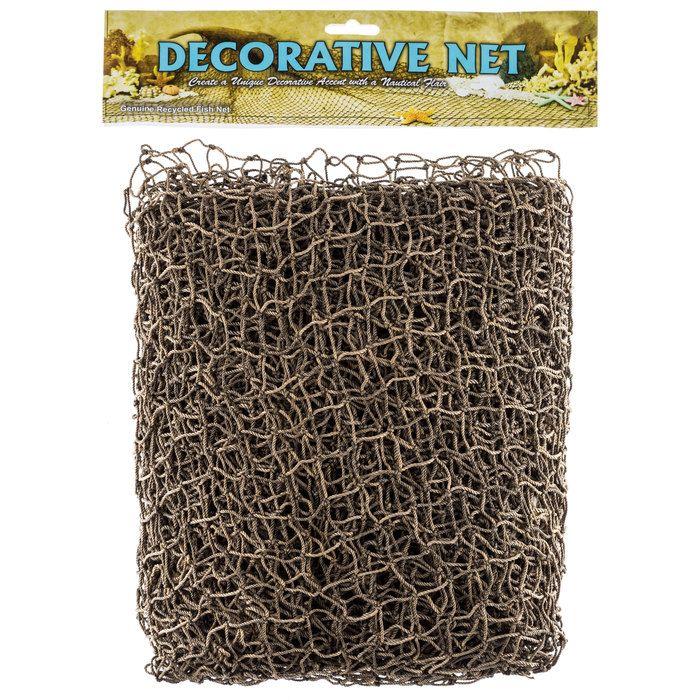 5' x 10' Brown Fish Net