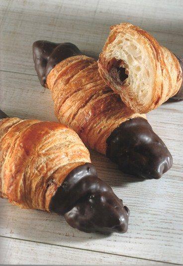 Cruasán de #chocolate - 10 #Recetas de bollería para hacer en casa
