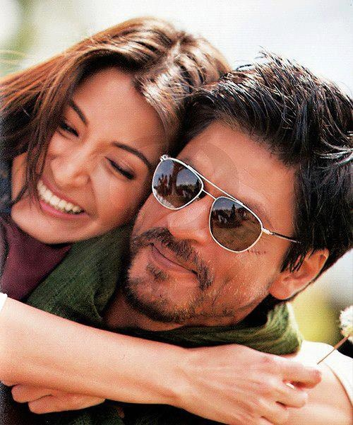 Anuska Sharma and SRK-movie Jab Tak Hai Jaan