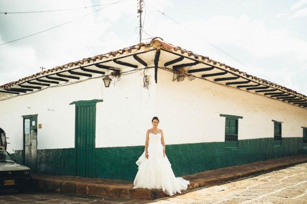 Rustic Chic Colombian Wedding