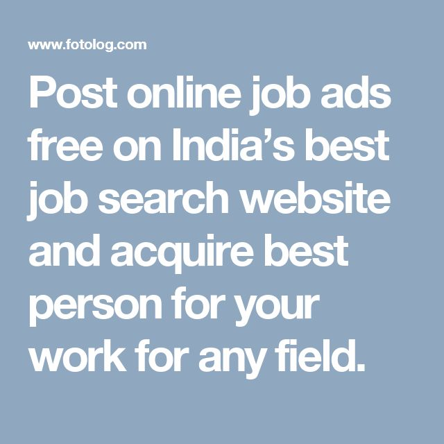 online job search sites