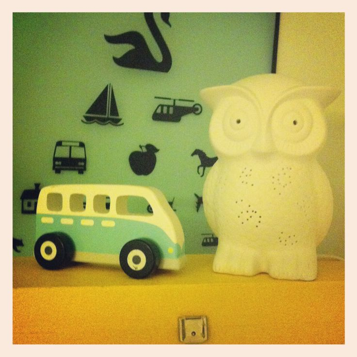 We love owls and VW buses
