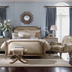 ethanallen.com - collector's classics vivica chest | ethan allen | furniture | interior design.  I want my guest bedroom to look like this.