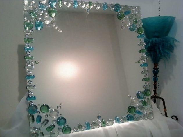 Business Tomato Diy Mirror Mirror Frame Diy Decorated Mirror