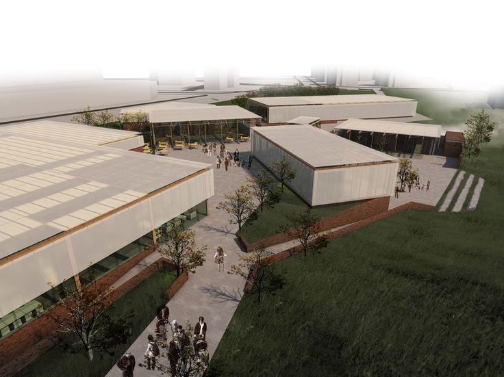 Çanakkale Savaşı Araştırma Merkezi - Ulusal Mimari Proje Yarışması - 3D