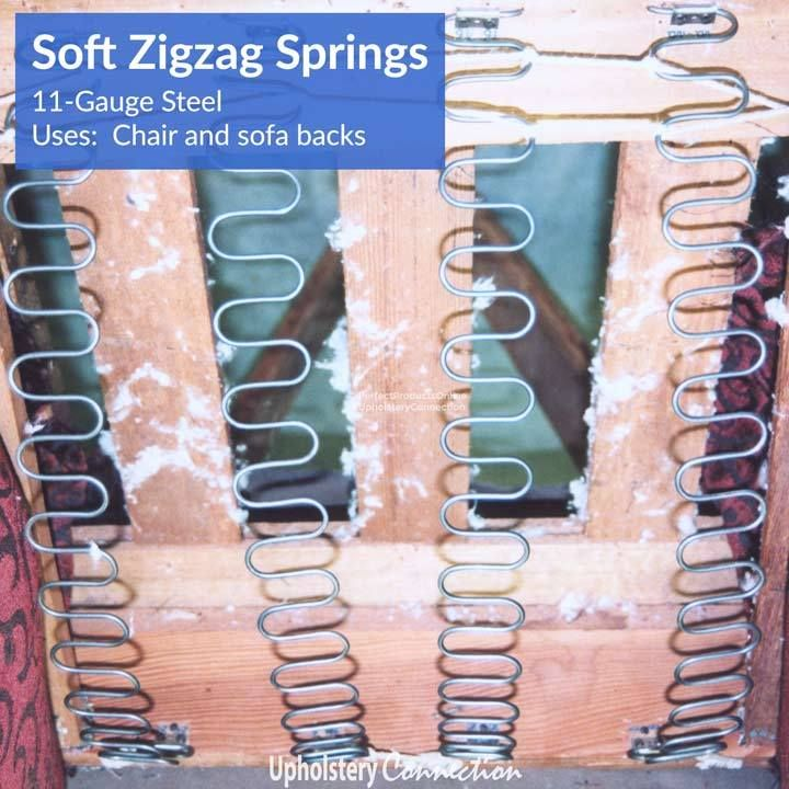 Zigzag No Sag Springs And Clips Zig Zag Simple Tricks Things To Sell