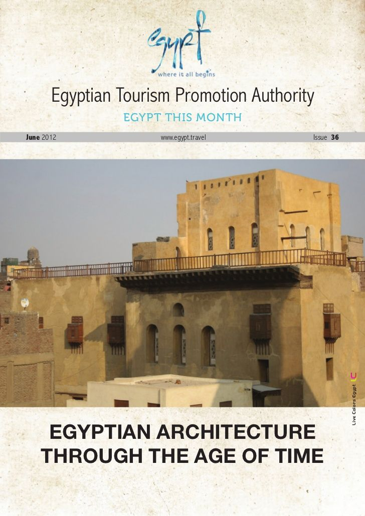 June-2012- by Egypt Tourism Board via Slideshare
