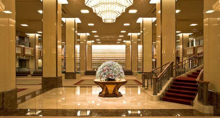 вестибюль гостиницы
