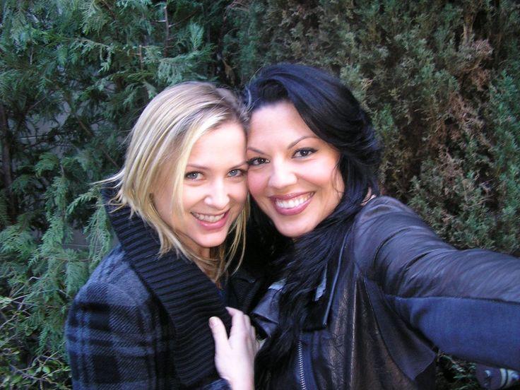 Jessica Capshaw and Sara Ramirez