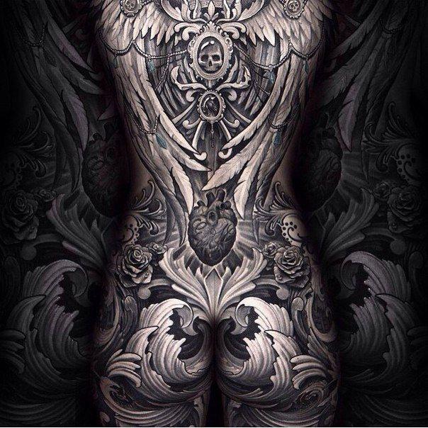 Жесть, какая татуировка!