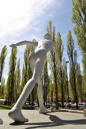 Walking Man. Munich-Alemania