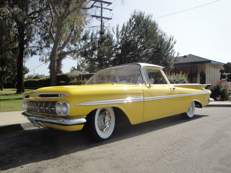 1959 El Camino Maintenance of old vehicles: the material for new cogs/casters could be cast polyamide which I (Cast polyamide) can produce
