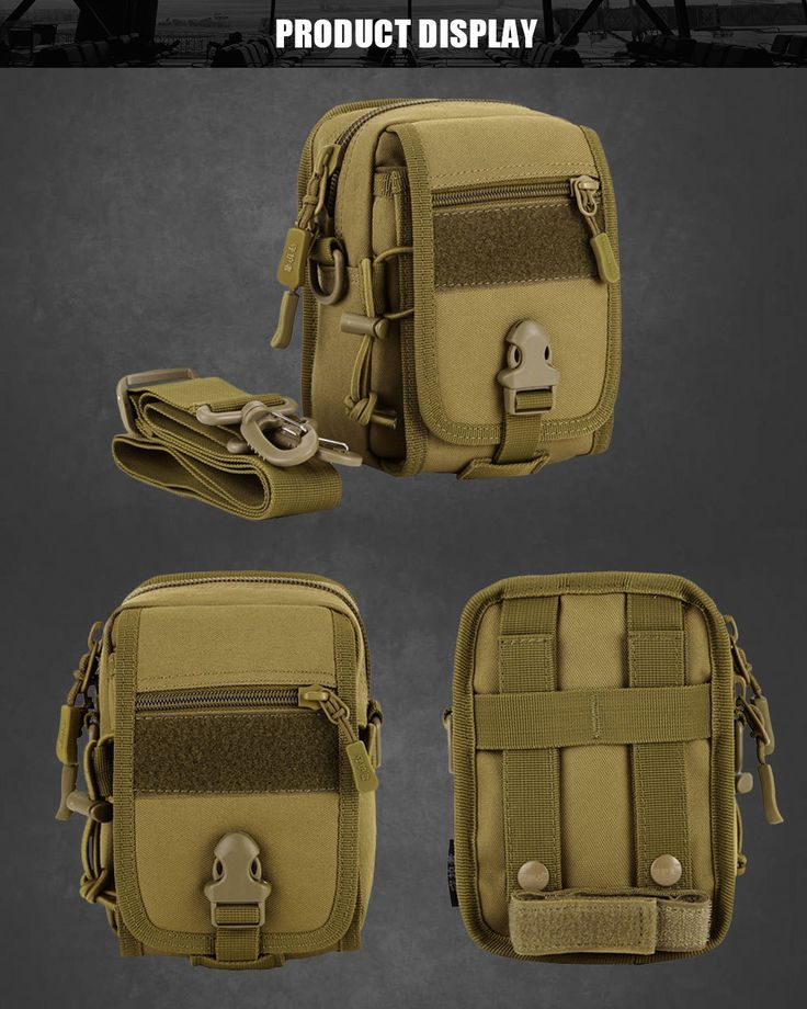 Tactical Molle Bag Nylon Pouch Portable Outdoor Cycling Travel Military Sport Waist Pack //Price: $30.99 & FREE Shipping //     #tacticalgear #survivalgear #tactical #survival #edc #everydaycarry #tacticool #hunting #camping #outdoors #pocketdump #knives #knifeporn  #knife #army #gear #freedom #knifecommunity #airsoft