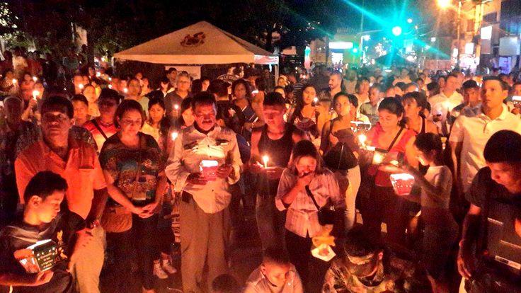 Enciende una vela por la paz en el Cauca [hhttp://www.proclamadelcauca.com/2014/12/enciende-una-vela-por-la-paz-en-el-cauca.html]