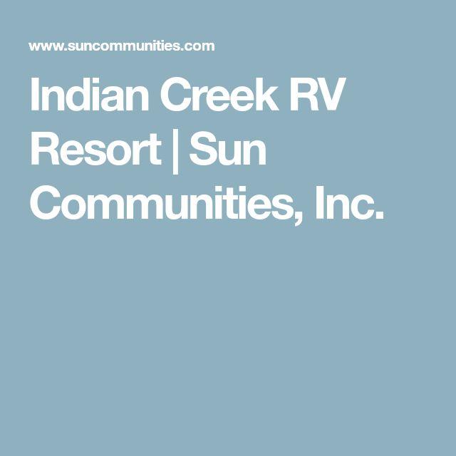 Indian Creek RV Resort | Sun Communities, Inc.