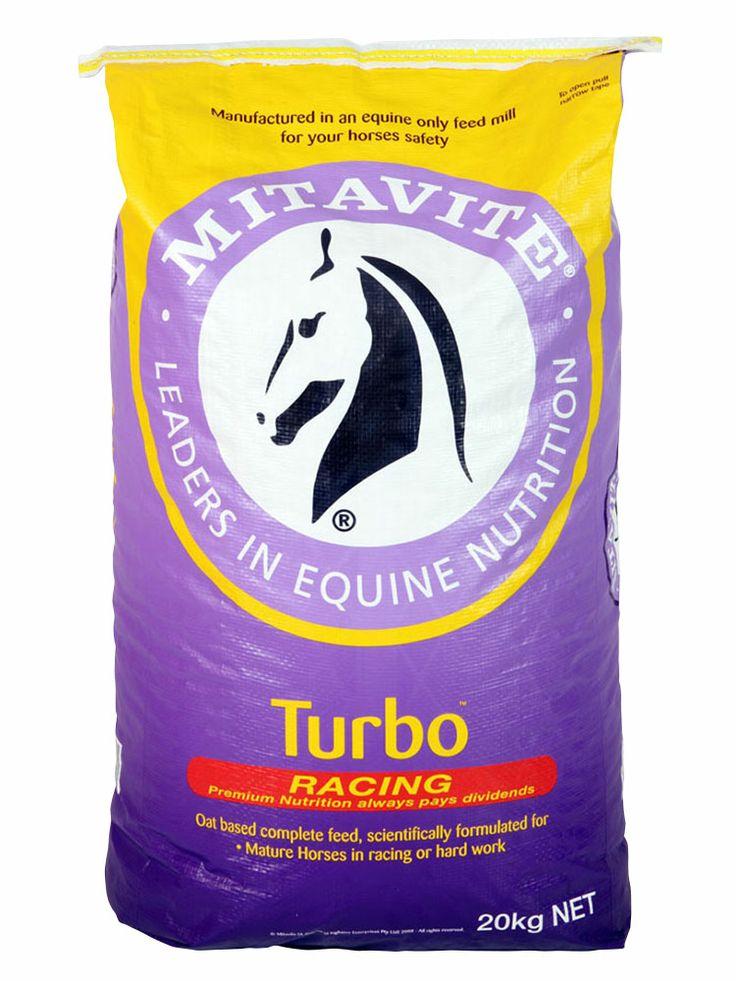 Turbo™ | Mitavite  #mitavite #horsefeeds #horses #equine #equestrian #turbo #thoroughbred #standardbred #containsoats #highenergy #muesli #racefeed #palatable #essentialaminoacids #omega3 #omega9 #hardwork #vitamins #minerals #premiumgradedoats #steamextrudedcorn #maximumenergy #highlydigestible