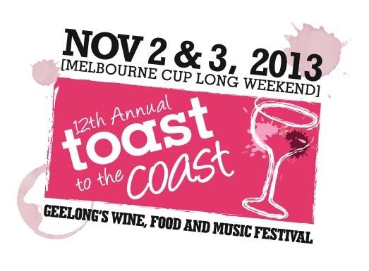 """Toast to the Coast"" - Geelong Wine Region"