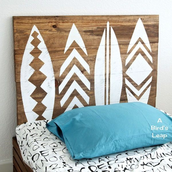 27 Incredible DIY Wooden Headboard Ideas                                                                                                                                                                                 More
