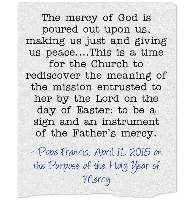 Best It Will Be A Holy Year Of Mercy Images On