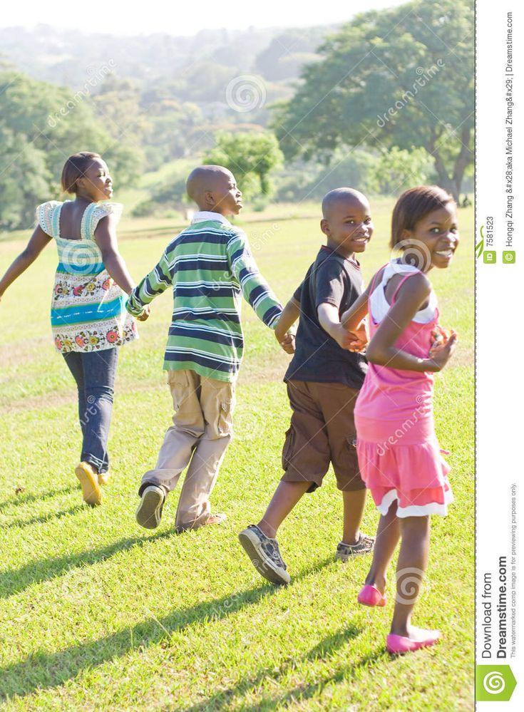 Afrikaanse kinderen van Masai-stam Stock Fotografie