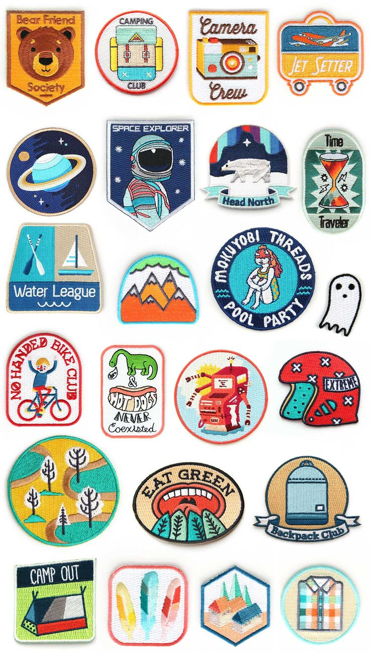 I love these patches  i also wish i could get the no handles club but i never rode a bike with no handles :/  Mokuyobi Threads