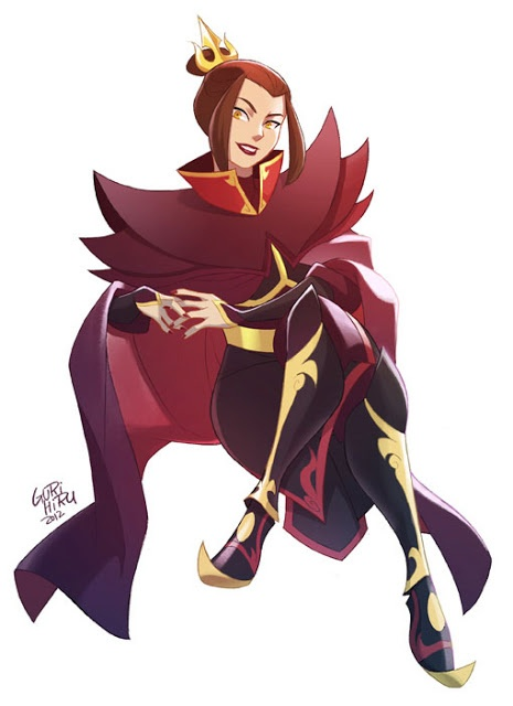 Azula- By far the best female villain ever and she's only 14