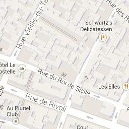 da 42 Rue Saint-Paul, 75004 Paris, Francia a 1 Rue Tiron, 75004 Paris, Francia - Google Maps