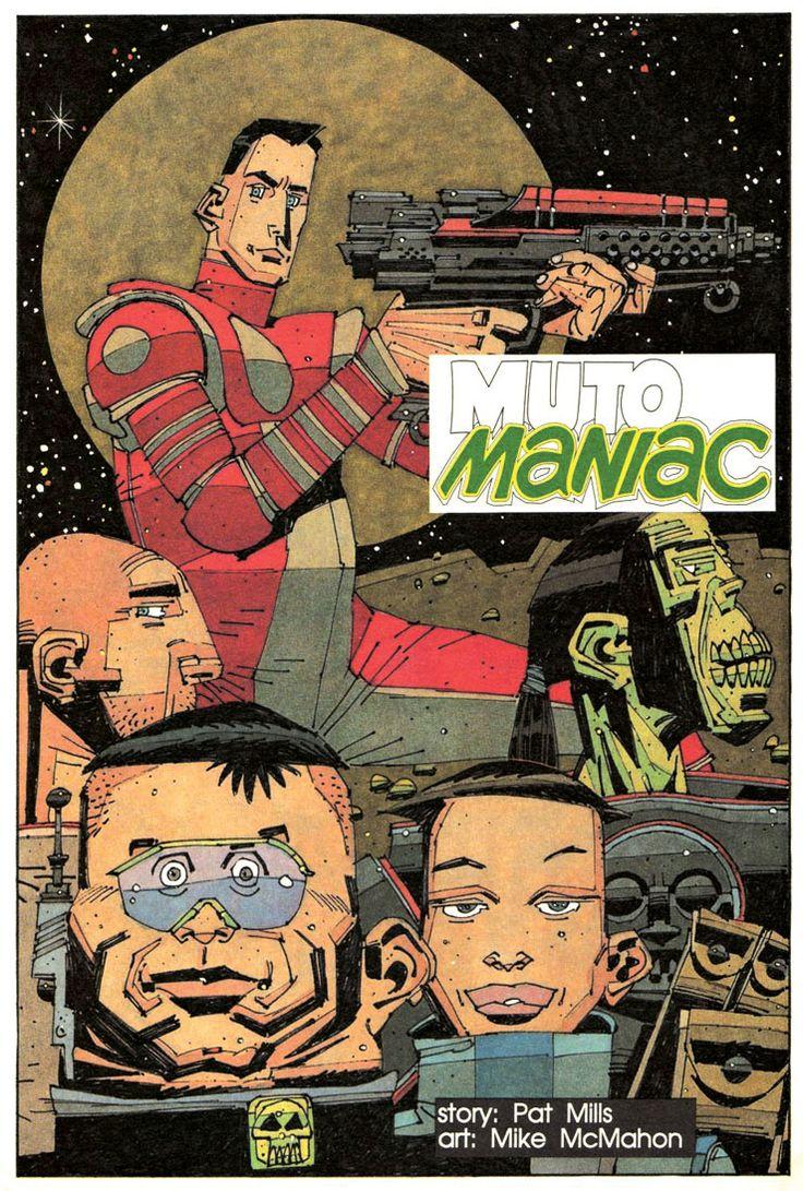 British Comic Art: Muto Maniac