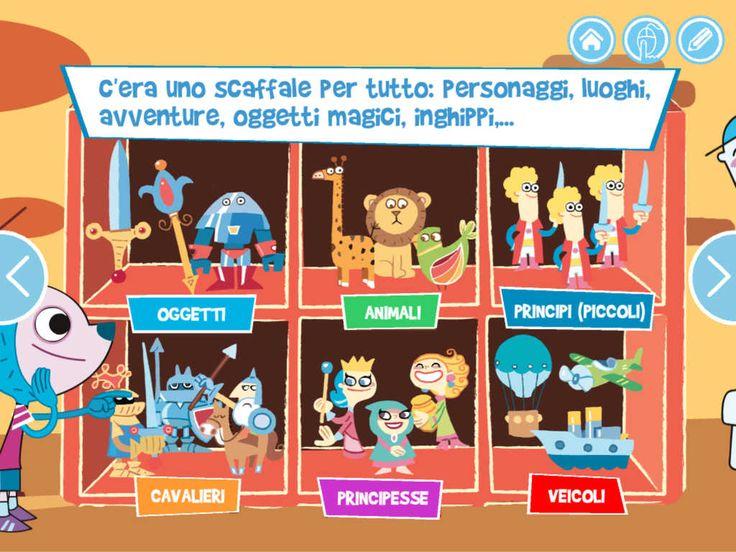 """La Bottega Delle Storie iOS iPad Un libro interattivo per bambini, sul fascino della curiosità e sul potere dell'immaginazione. Seguite i protagonisti alla scoperta di un paese fantastico dove le storie e i personaggi prendono vita. Leggete ai vostri bambini e giocate con loro, guidati dalle attività interattive e pratiche suggerite. Godetevi le illustrazioni e le divertenti animazioni. Un libro per suggerire ai piccoli come diventare """"grandi"""" e ricordare ai grandi che l'incanto dei…"""