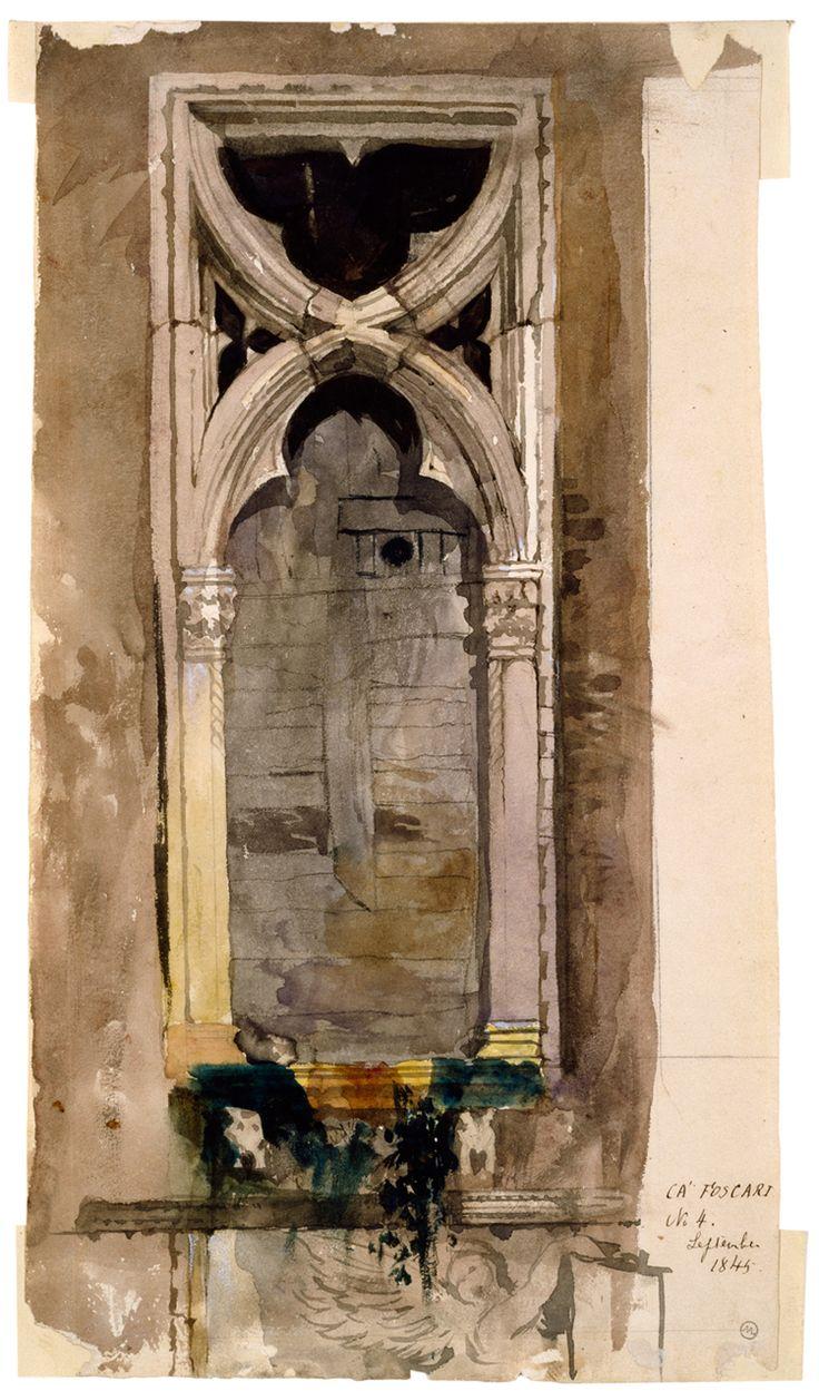 Venetian window by John Ruskin