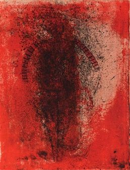 [PERSONAJE EN ROJO] By Rufino Tamayo