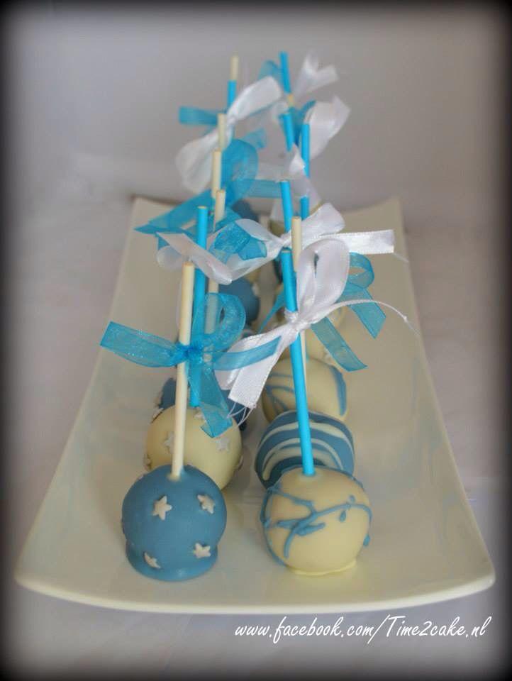 Cakepops voor Frozen Sweettable