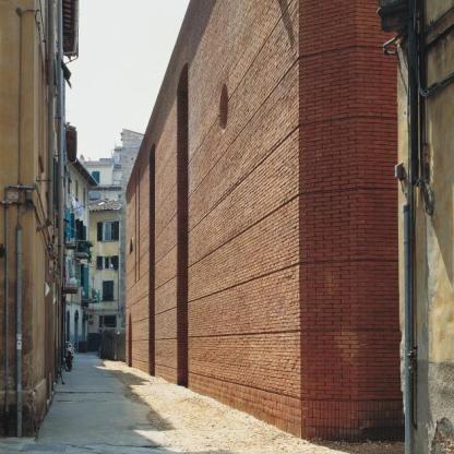 Reconstruction of San Michele, Borgo, Pisa Massimo Carmassi