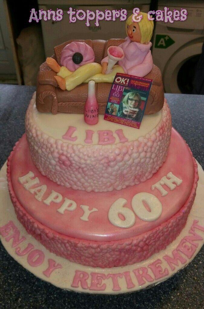60th/retirement cake